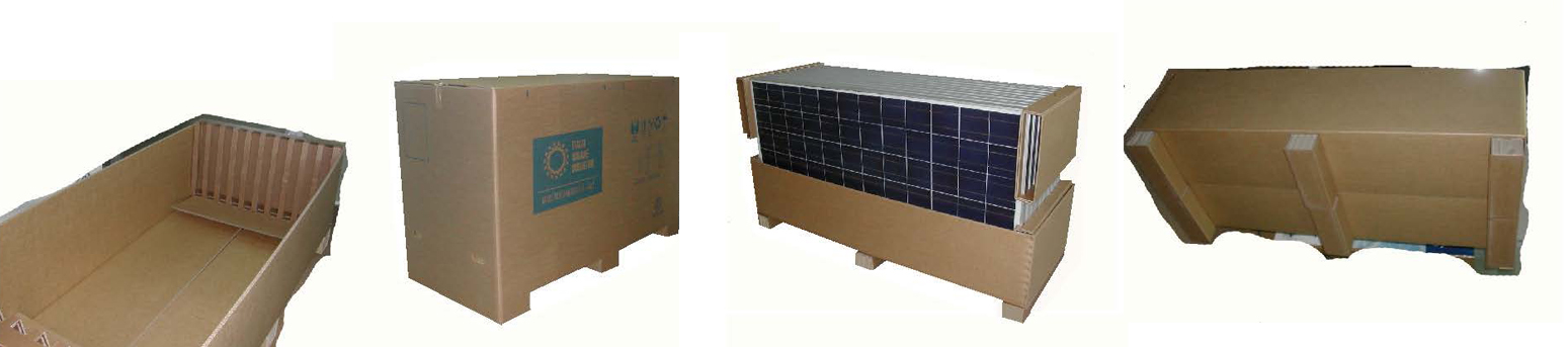 Imballo per pannelli fotovoltaici eredi caimi s r l for Pannelli di cartone